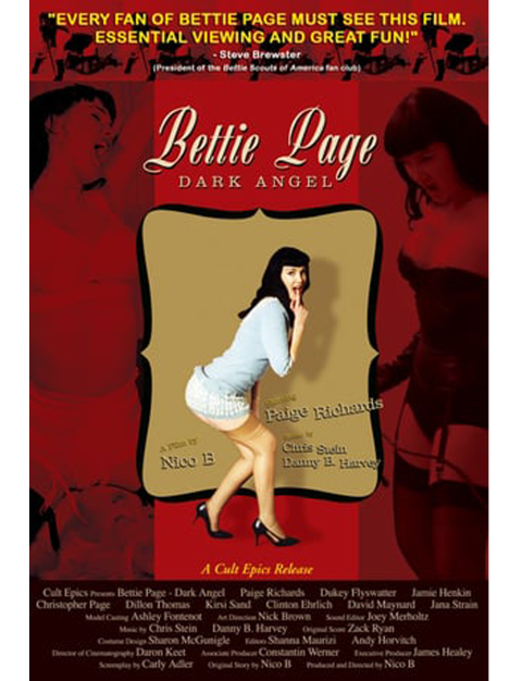 Bettie Page Dark Angel Cover